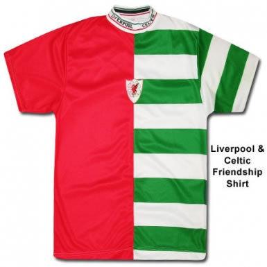 Liverpool Fc Amp Celtic Fc Friendship Shirt