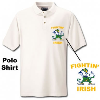 Ireland Fighting Irish Polo Shirt