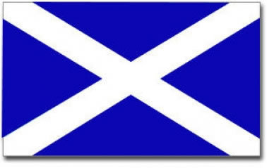 Scotland Saltire Flag