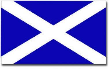 Scotland Saltire Flag