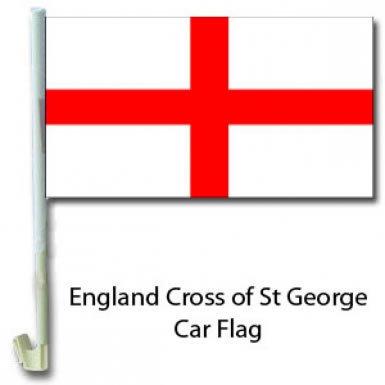 England Car Flag Cross Of St George Car Flag