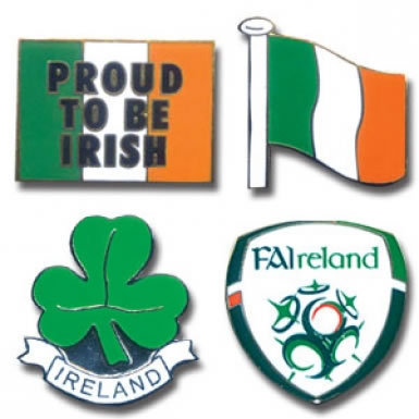 Ireland Pin Badges