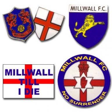 Millwall Pin Badge Set