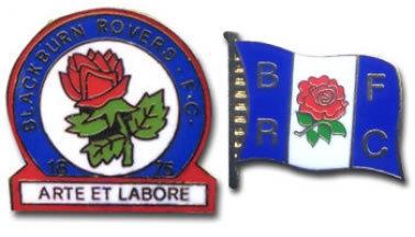 Blackburn Rovers Pin Badges