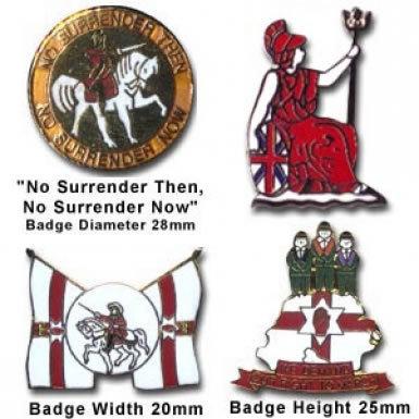 Loyalist Badge Set