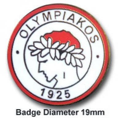 Olympiakos Pin Badge
