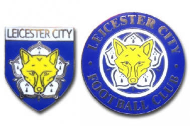 Leicester City Football Pin Badges