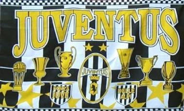 FC Juventus Football Flag
