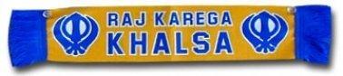 Sikh Khalsa Mini Scarf