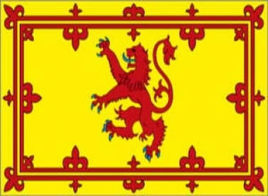 Rampant Lion Royal Flag of Scotland
