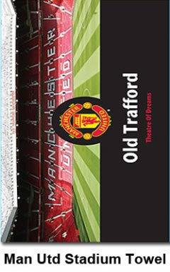 Man Utd Stadium Towel