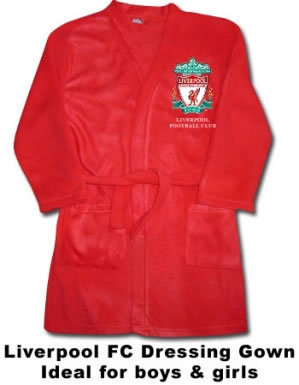 Liverpool FC Kids Dressing Gown