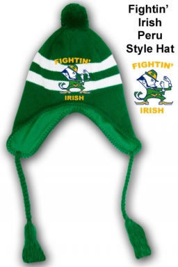 Fightin' Irish Peru Style Hat