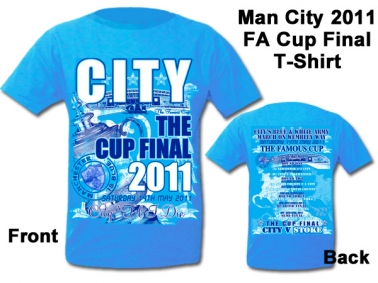 Manchester City FA Cup Final Tshirt