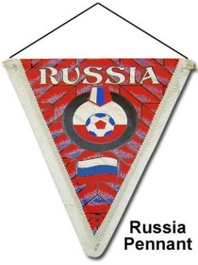 Russia Pennant