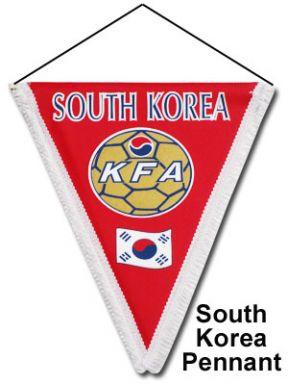 South Korea Pennant