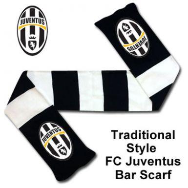 FC Juventus Crest Bar Scarf