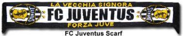 FC Juventus Football Scarf