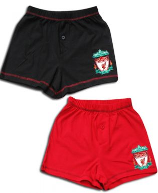 Liverpool FC Kids Boxer Shorts