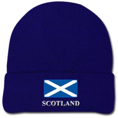 Scotland Flag Wool Hat
