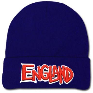 England 3D Logo Wool Hat
