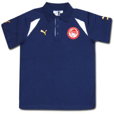 Olympiakos Crest Polo Shirt