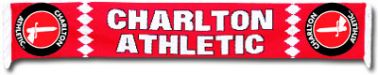 Charlton Athletic Crest Scarf