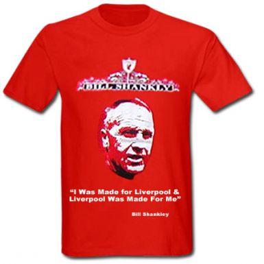 Bill Shankly Legend T-Shirt