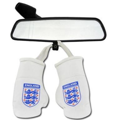 England 3 Lions Mini Boxing Gloves