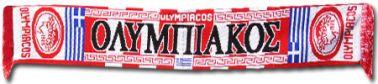 Olympiakos Football Crest Scarf