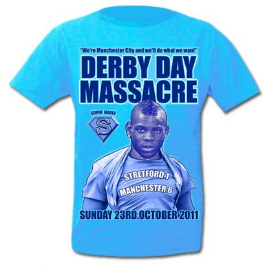 Man Utd 1 - Man City 6 Massacre T-Shirt