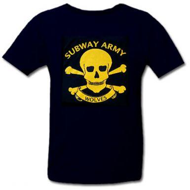 Wolves Subway Army T-Shirt