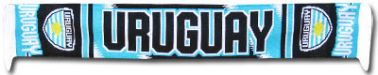 Uruguay Soccer Scarf