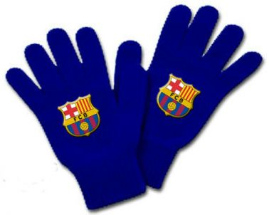 FC Barcelona Crest Gloves