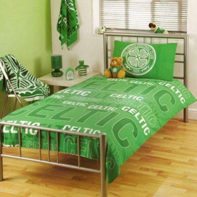Buy celtic fc single duvet set for Bedroom furniture sets glasgow