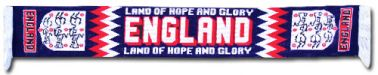 England Land of Hope & Glory Scarf