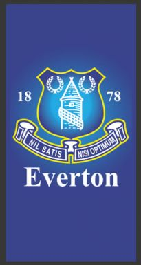 Everton FC Football Crest Rug