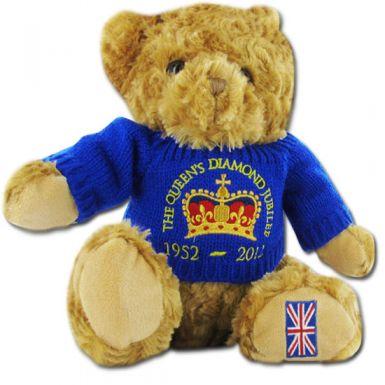 Queen Elizabeth II Diamond Jubilee Teddy Bear