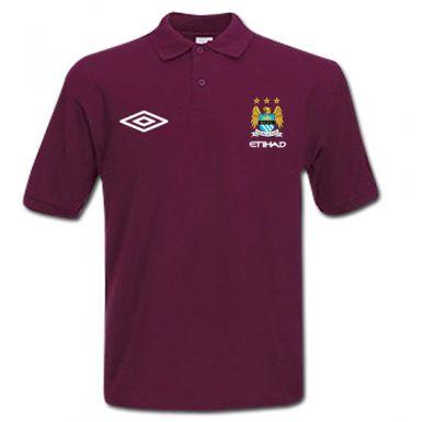 Official Manchester City Crest Polo Shirt