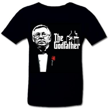 Alex Ferguson Godfather of Football T-Shirt