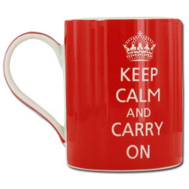 Keep Calm & Carry On Mug