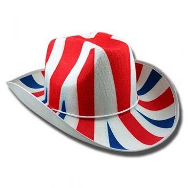 Union Jack Cowboy Hat