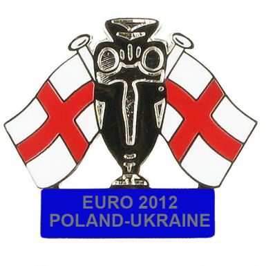 England Euro 2012 Pin Badge