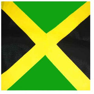 Jamaica Flag Bandana Reggae Boyz Bandana