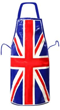 PVC Union Jack Flag Apron
