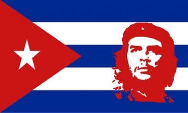 Che Guevara Revolution Flag