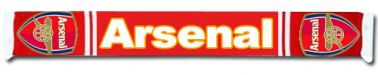 Arsenal FC Crest Scarf