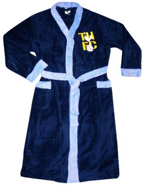 Spurs Football Crest Dressing Gown