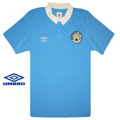 Manchester City Polo Shirt by Umbro