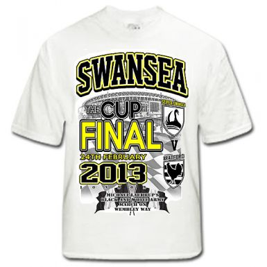 Swansea City 2013 Capital Cup Final T-Shirt